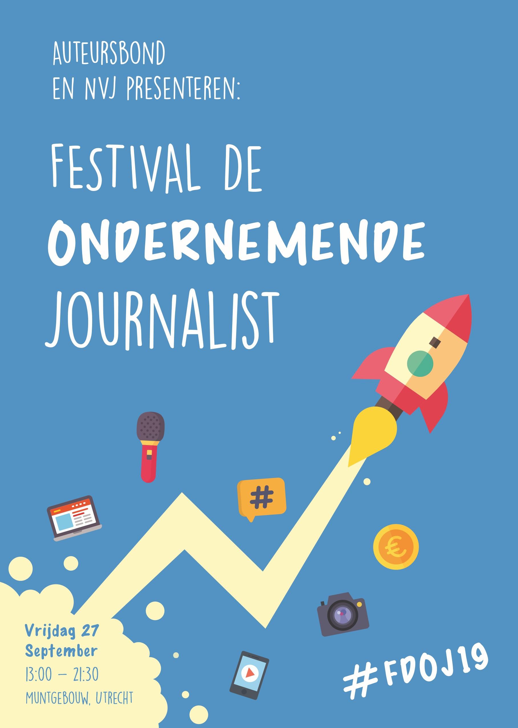 festival ondernemende journalist